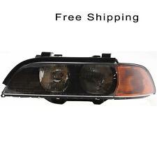 Halogen Head Lamp Assembly Driver Side Fits BMW 528i 540i M5 BM2502118