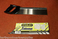 """Two x Stanley Tenon Saws 300mm 12"""" + FREE Stanley Tape Measure DIY/TOOLS/JOINERY"""