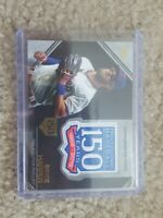 2019 Topps UPDATE PATCH RELIC 150 year FOIL BRYCE HARPER PHILLIES # /150