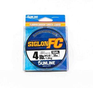Sunline Siglon FC Fluorocarbon 100% Line 50m 4lb Diameter 0.16mm (8241)