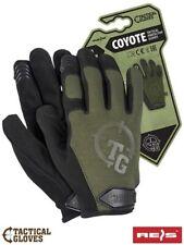 Taktische Schutzhandschuhe TACTICAL GLOVES COYOTE grün Gr. S, M, L