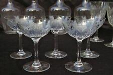 BACCARAT modèle MOLIERE - 5 Coupes à Champagne en cristal taillé