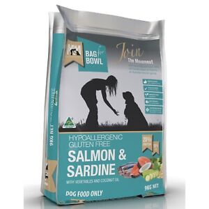 Meals for Mutts Gluten Free Salmon & Sardine Dry Dog Food - 9kg