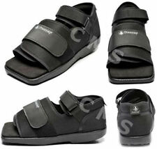 POWERSTEP Square Toe Medical Surgical Post-Op Shoe Black ALL SIZES New 7500-01