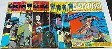Batman I serie 11 albi manca solo il n.7 edizioni Williams del 1971