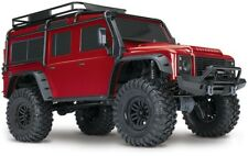 Traxxas TRX-4 Scale Crawler Land Rover Defender rot 1:10 4WD RTR #82056-4R