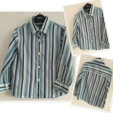Next Boys Smart Occassion Pinstriped Shirt 4 Years