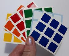 Magic Cube Stickers 3x3 57mm compatible with Rubik Dayan Shengshou Cubes