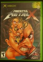 Freestyle MetalX (Microsoft Xbox, 2003) Manual Not Included