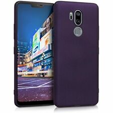 Case for LG G7 ThinQ/Fit/One - Hard Plastic Anti Slip Grip Shockproof P