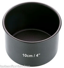 Master Class Non Stick 4 Inch / 10cm Small Deep Cake / Pork Pie Baking Tin Mould