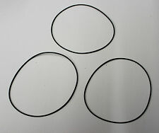 3 x ISOKINETIK giradischi cinghia di trasmissione si adatta REGA p3 Planar 3