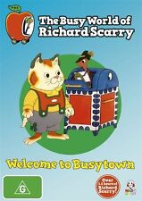 The Busy World of Richard Scarry: Welcome to Busytown (Vol 1) BRAND NEW SELAED!