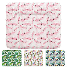 Wickelauflage 50x70 75x70 85x70 abwaschbar PVC soft Wickelunterlage Baby