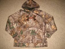 Under Armour Mens Camo Hoodie Sweatshirt Coldgear Hunting XL