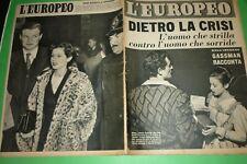 L'Européen 1954 Vittorio Gassman + Dorothy Vivaneau Rouge De Frasso + Corinne