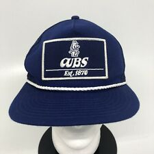 Chicago Cubs New Era Golfer 9FIFTY Trucker Historic Logo Snapback Hat Royal Blue