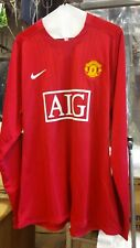NWT new Authentic Nike 2007 Manchester United Player Issue Rooney L/S Jersey