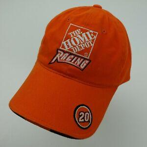 The Home Depot Racing Ball Cap Hat Adjustable Baseball