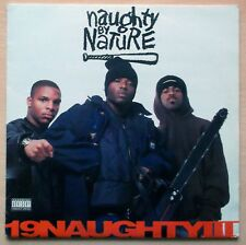 "Naughty By Nature – 19 Naughty III Lp 12"" Hip Hop 1993"