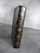 Montesquieu Lettres persanes, grandeur décadence des romains temple Gnide 1846