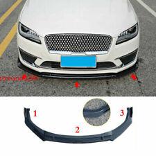 For Lincoln MKZ 2017-2020 Carbon fiber style Front Bumper Lip Body Kit Spoiler