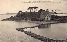 PORT BLANC L'Ile Marquer et le Chalet des Roches à M. J. de Cuverville