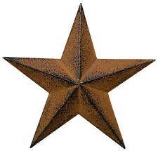 "Rusty & Black Metal Barn Star 24"" Rustic Texas/ Decorate in Style Inside/Out!"
