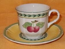 V&B VILLEROY & BOCH - FRENCH GARDEN - Espresso Tasse ~0,10l + UT Teller d=~13cm