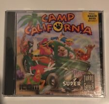 Camp California (TurboGrafx-CD, 1993) Excellent Condition Factory Sealed New