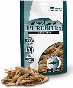 PureBites Minnows Freeze Dried Treats for Cats 1.09 Ounces