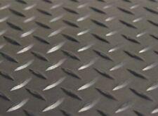 Diamond Plate Gym Floor Mat  Rubber Roll Garage Golf Cart Truck Bed Flooring
