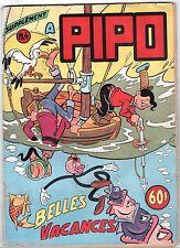 SUPPLEMENT A PIPO n°4 ¤ 06/1954 ¤ SAGE ¤ BELLES VACANCES