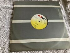 "Ninjaman & Flourgon - Dollars Talk-Vinyl 12"" Single VG+/VG+ (PICK 31)"
