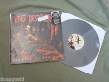 Free* Postage New Pig Destroyer Prowler In The Yard Vinyl LP Re=issue Silver Ltd