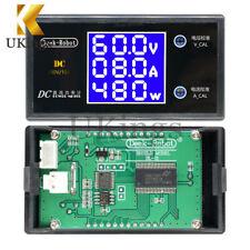 DC 100V 10A 1000W Digital LCD Voltmeter Wattmeter Voltage Current Power Detector