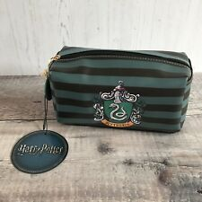 Harry Potter Primark Slytherin Travel Toiletry Make Up Cosmetics Bag BNWT