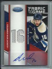 Derick Brassard 11/12 Panini Certified FOTG Autograph Game Used Jersey #19/25