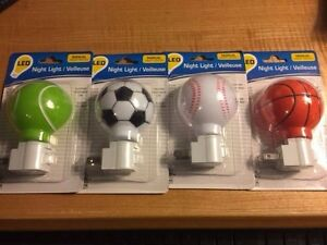 Night Light -  Sports Themed Night Lite Including Football!