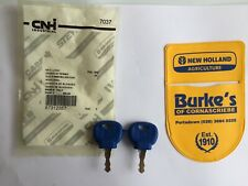 2X Genuine CNH Ford New Holland Key -T4000 T4. T5060  TVT