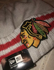 NHL Chicago Blackhawks Knit Hat New Era Beanie Cap