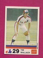 VERY RARE 1983 MONTREAL EXPOS TIM WALLACH  STUART NRMT-MT CARD (INV# A2899)