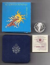 VATICANO - 2007 - 5 Euro - Proof - XL° Giornata della Pace - Argento 925