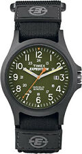 Timex Expedition Nylon Stainless Steel Case Wristwatches