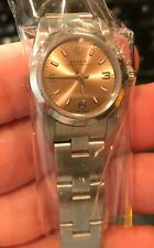 Rolex ladies steel Oyster Perpetual 76080 Pink dial 26MM Oyster Band