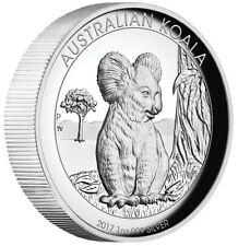 Australien - 1 Dollar 2017 - Koala - High Relief - 1 Oz Silber PP