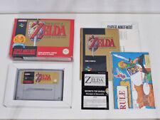 Super Nes Nintendo Snes - Zelda 3 A Link to the Past (SFRA - Français) COMPLET
