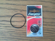 1 x ENERGIZER Battery & O-ring kit for Suunto Vyper, Vytec, Gekko, Zoop, HelO2