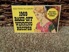 1969 PILLSBURY BAKE OFF WINNING RECIPE PROMO BOOKLET..COOKBOOK..