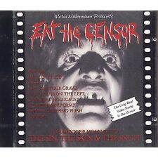 Eat the censor - DRILLER KILLER SNUFF CANNIBAL HOLOCAUST - CD 1999 NEAR MINT